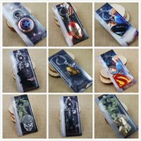 Wholesale Iron Man Superman Spiderman Batman Captain America Key Rings Zinc Alloy Keychain Cheap Promotional Gifts Toys