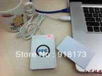 Wholesale USB ACR U NFC support all types ISO IEC Tags writable for UID card or UID tag UID card software