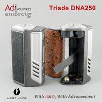 Auténtico Lost Vape Triade ADN 250 250 TC TC MOD Evolv ADN 250 Chip PARA Variou RDA RBA RTA RDTA vs dna200 vt167 ipv8