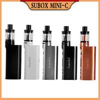 Wholesale 100 Original kanger subox mini c kit starter kits with Kbox Mini c box mod Protank ssocc coil Kangertech SUBOX MINI C DHL free