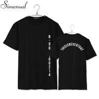 Wholesale BTS SAVE ME summer couple tops tees t shirt letter print plus size paired t shirts hot sale harajuku fashion t shirt new
