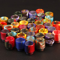 Wholesale resin drip tip for Smok TFV8 Atomizer Smoktech ml TFV8 Cloud Beast Tank With V8 T8 V8 Q4 Coil Head Best Updated TFV4 Tank DHL