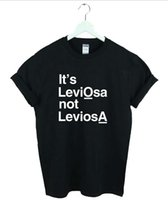 bell trade - IT S LEVIOSA NOT LEVIOSA T shirt Foreign trade speed sell tong lady T shirt style in Europe and America