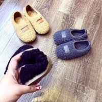 Cheap High Quality Cut Baby Shoes Children's Winter Warm Shoes Kids Clothing & Shoes Boys Girls Booties First Warkers Toddler Shoes Slippers