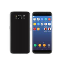 Curved Screen S8 Real Fingerprint Android 7.0 Débloquer Goophone S8 plus Phone Quad core Afficher Octa core Tmobile 4G LTE 4GB + 64GB