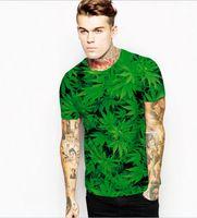 Wholesale 2017 NEW Leisure hip hop men t shirt printed t shirt fashion Maple Leaf Chinese Restaurant leaves t shirt