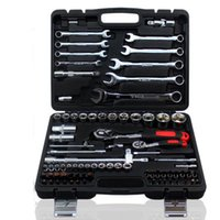 Wholesale 82 Car Repair Tool Sets Combination Tool Wrench Set Batch Head Ratchet Pawl Socket Spanner Screwdriver