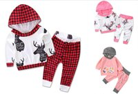 bb sportswear - 70 CM BB clothes INS long sleeves trousers baby spring autumn suit kids fashion sportswear set A43