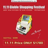 Wholesale promotion price Specialized duplicate Key Laser Cutting Machine Key Copy Machine SEC E9 with Single Sided Tubular and Tibbe Key Clamp
