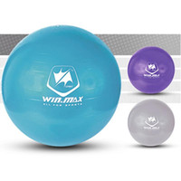 anti burst - Winmax Fashion Hot Style cm Exercise Workout Fitness PVC Gym Yoga Ball Anti Burst Swiss Core Ball Colors Purple Blue Grey