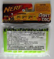 Wholesale 48pcs dart tag nerf gun adhesion bullet Foam EVA crossed cruciform sticky