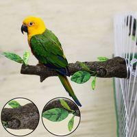 Wholesale Parrot Bird Cage Perch Stand Resin Tree Branch Rack Bird Cage for Parakeet Cockatiel Pet Bird Toys JJ0201