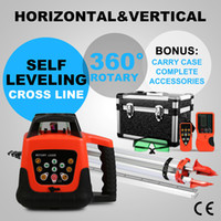 Wholesale Updated Automatic Self leveling Rotary Green Laser Level m Range Tripod m Staff