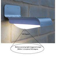 Wholesale CAROLA Solar LED Lights Motion Senor mah Waterproof Outdoor Motion Night Lights for Home Led Night Light