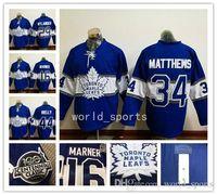 Wholesale Hockey Jerseys Cheap th Toronto Maple Leaf Jerseys RIELLY MARNER Matthews Blue winter classic Hockey Jerseys Stitched