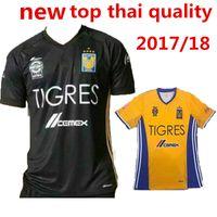 Wholesale Tigres UANL Stars jerseys Mexico club Tigres home Away rd Stars football shirt jersey thai quality