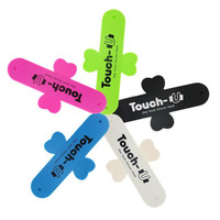 Wholesale Promotional Silicone Phone Stand touch u stand silicone phone holder
