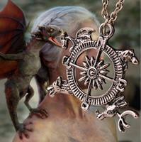 animal house film - Game Of Thrones Houses Symbol Pendant Necklace Vintage Animal Film Jewelry Gift SLZJ16020G