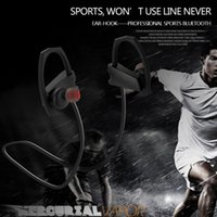 Wholesale Sport Bluetooth Headphone Wireless Earbuds with Mic Sport Stereo Headset Noise Cancelling Neckband IPX5 Sweatproof