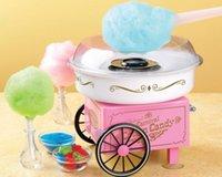 Wholesale Best Christmas Gift V V Cotton Candy Maker Machine Vintage Retro Carnival Kids Hard Sugar