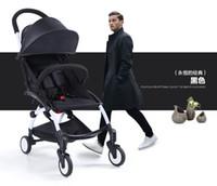 Wholesale NEW Mode draagbare kinderwagen gevouwen luxury baby stroller in kids push bike trolley kinderen poussette pliante by