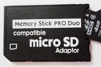 TF Carte micro SD pour Memory Stick Pro Duo Adaptateur compatible fente pour carte fente pour Sony Appareil photo numérique Game Player