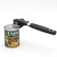 Wholesale Multi function Safety Stainless Steel Tin Kitchen Cans Opener Professional Ergonomic Manual Can Opener Side Cut Manual Can Opener S201703