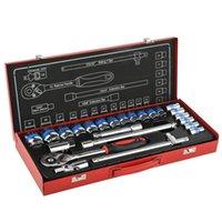 Wholesale 1 inch Socket Wrench hand tool set of Chrome vanadium for car repair