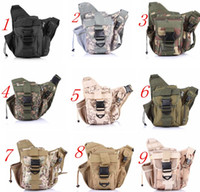 best camping hiking backpack - Best Quality Army Tactical Backpack Oxford Camouflage Waist bag For Outdoor Casual Camping Traveling Hiking Trekking Cross Camera Bags