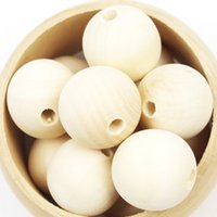 Wholesale 14mm Wood Beads Natural Eco friendly Wooden Beads For Cute Baby Teething Teether Beads For DIY Accessories Toys Gifts