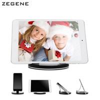 aluminium table base - Tablet PC holder phone base holder universal stand bracket bedside table lazy stent