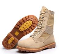 2018Delta Botas Tácticas Militares Desierto SWAT Botas de Combate Americano Zapatos de Exterior Breathable Wearable Botas de senderismo EUR tamaño 39-45