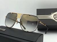big five sports - 2017 New Dita Mach Five Sunglasses DRX Top Quality k Gold Plated Big frame Unisex Model Man Women Glasses Dita Eyeglasses