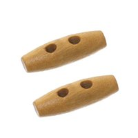 arts and craft projects - Brown Olive Shape Wooden Sewing Button With Holes Buttons x7mm Decorative Buttons For Kids Craft And Art Projects Pack of I525L