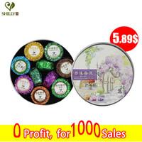 Wholesale 100g Shu Pu er Mini Tuo Cha mix Puerh Lotus tea Chinese Ripe Puer tea Brand Sticky Rice Orange Pu er Slimming Pu Erh