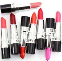 1 baby kit set - Popfeel Color Matte Lipstick Set Brand Make Up Waterproof Lip Balm Batom Long Lasting Lipgloss Baby Lip Stick Lip Kit Makeup hot