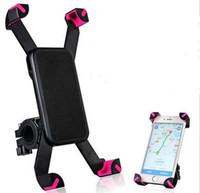 Wholesale Anti Slip Universal Rotating Bicycle Bike Phone Holder Handlebar Clip Stand Mount Bracket For Smart Mobile Cellphone