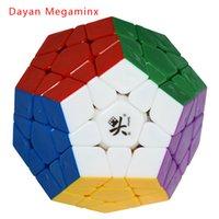 Nuevo DaYan cubo mágico Megaminx Dodecahedron sin etiqueta Dodecahedron Cubo Magic Puzzle juguetes educativos especiales