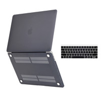 Wholesale MacBook Pro Case A1706 A1708 Rubberized Hard Case and keyboard cover for Macbook Pro inch NEWEST VERSION Release October