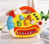 Wholesale Genuine cartoon moon animal keyboard electronic guitar children s educational toys explosion models of toys