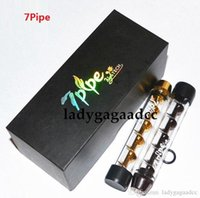Wholesale Twisty Glass Blunt Pipe Second Generation Dry herb Pipe grinder Filter System More Accessories herbal Pipes Twist me cig