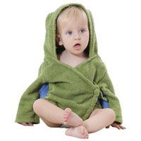 1-Piece beautiful nightgowns - IDGIRL Baby Kids Clothing Beautiful Cartoon Animal Style Hooded Bathrobe Baby Towel Boys Girls Pajamas JY0241