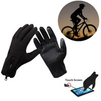 Wholesale Winter Windproof Outdoor Sport Cycling Touch Screen Gloves for Man and Women Unisex L XL CYC_90O