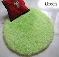 Wholesale Fluffy Anti skid Shag Area Rug Yoga Carpet Yoga Mat Cover Towel Blanket Sport Home Floor Dining Room Mat