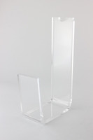 Wholesale High heeled shoes presentation Display Rack Acrylic shoes shop Display Holder rack
