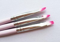 Wholesale Light powder rod sets of flat oblique circle painted light therapy pen nail color pencil carving pen set