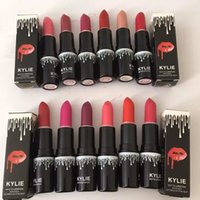 Wholesale 2017 new arrival Lip Kit Kylie matte lipstick colors Cosmetics kylie jenner Make up