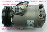 Wholesale car air conditioning compressor air pump Holden Astra TS Barina Combo XC Vectra JS OPEL Delphi CVC