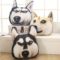 Wholesale New Hot D cm cm Samoyed Husky Dog Plush Toys Dolls Stuffed Animal Pillow Sofa Car Decorative Creative Birthday Gift