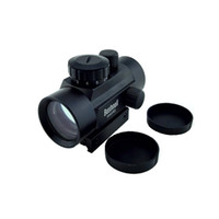 air rifle scopes - 1x40RD mm Mounts Tactical Green Red Dot Sight Scopes Riflescope Hunting aim Rifle Scope Optical Sight For Air Riflex Sight